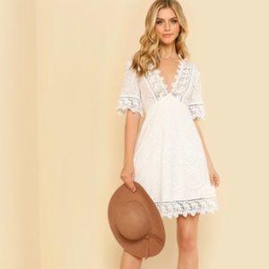 Dresses & Skirts - Boho Eyelet Dress